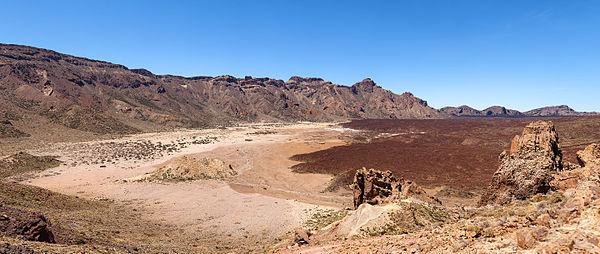 Llano de Ucanca in Tenerife, Spain