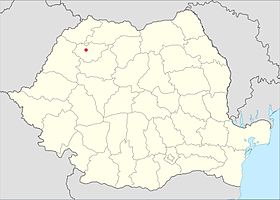 Location of Giurtelecu Şimleului within Romania.jpg