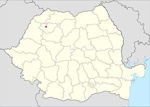Location of Giurtelecu Şimleului
