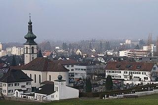 Lochau Place in Vorarlberg, Austria