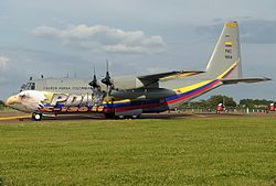Lockheed C-130H Hercules, Colombia - Air Force JP7410603.jpg