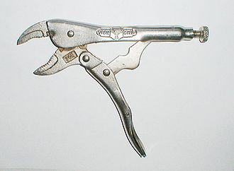 Linkage (mechanical) - Locking pliers exemplify a four-bar, one degree of freedom mechanical linkage.  The adjustable base pivot makes this a two degree-of-freedom five-bar linkage.
