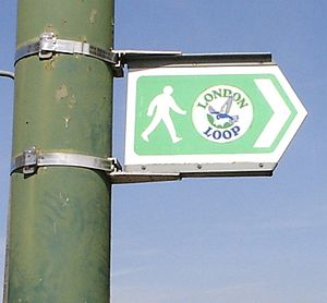 Walking in London - Local authorities are responsible for route signage
