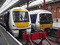 London Marylebone Station - Chiltern Railways - 168112 and 165009 (8091411528).jpg