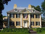 The Longfellow National Historic Site, also known as the Vassall-Craigie-Longfellow House, in Cambridge, Massachusetts.