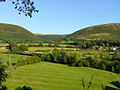 Looking south-east from Llandinam churchyard - geograph.org.uk - 412959.jpg