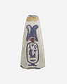 Lotus Petal Bead Inscribed with the Throne Name of Amenhotep III MET 11.215.371.jpg