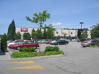 The City of Lougheed Shopping mall in British Columbia, Canada