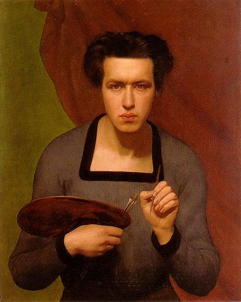 Fichier:Louis Janmot - Portrait de l'artiste.jpg