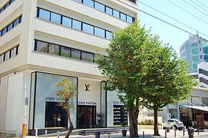 Louis Vuitton - Louis Vuitton store in Nicosia, Cyprus