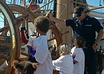 Lt. Chris Nolan, Aboard the U.S. Coast Guard Cutter Eagle, Gives a Tour To San Francisco Children From Portola Family Connection DVIDS1088110.jpg