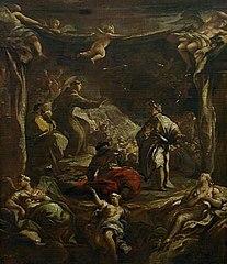 Saint Anthony of Padua Rebuking The Tyrant Ezzelino