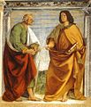 Luca Signorelli - Pair of Apostles in Dispute - WGA21264.jpg