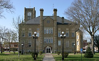 Lucas County Courthouse (Iowa) United States historic place
