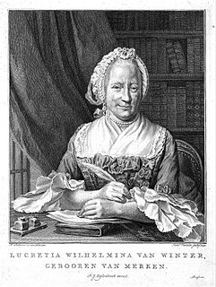 Lucretia Wilhelmina van Merken