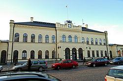 Stationsbygningen