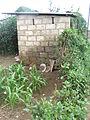Lusaka peri-urban area, pit latrine (3794845384).jpg
