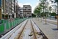 Luxembourg, construction tram allée Scheffer (2).jpg