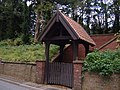 Lych Gate, St James Church, Warter - geograph.org.uk - 1541153.jpg