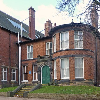 University of Leeds accommodation - Lyddon Hall on the main campus