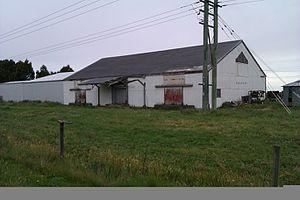 Methven Branch - Lyndhurst Goods shed