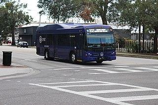 Lynx (Orlando) bus system in Orlando, FL