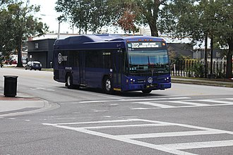 Lynx (Orlando) - LYNX bus on the Route 102 line in Orlando