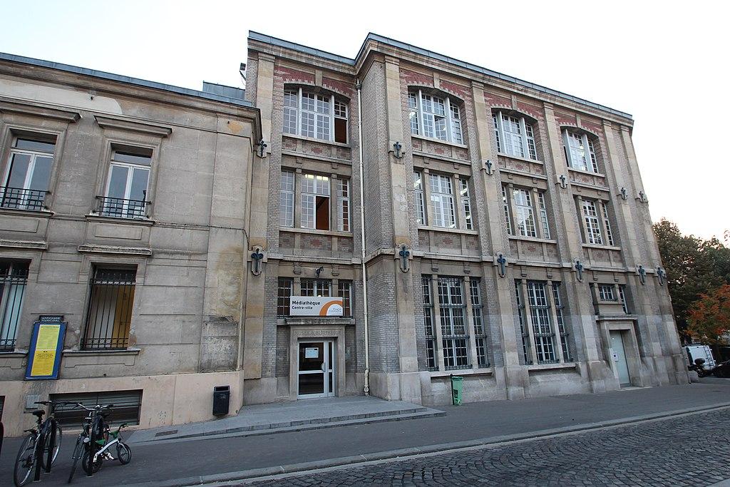 Mediatheque Centre Ville Saint Denis