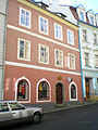 Měšťanský dům, Židovská 412-9, Cheb.JPG
