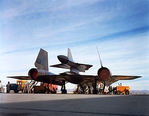Lockheed D-21 - Image: M 21 Rear