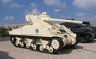 Super Sherman - Captured Egyptian M4A4 with FL-10 Turret.