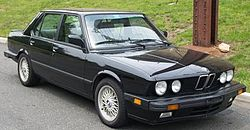 1988 US-Spec M5 with European-Spec headlights