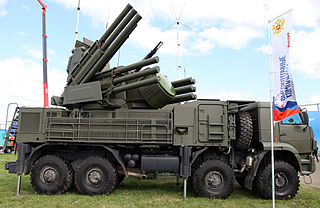 gun and missile anti-aircraft weapon system