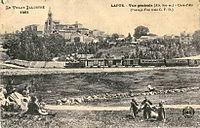 MB 1461 - LE VELAY ILLUSTRE - LAPTE (alt 870 m) - Cure d'air (Passage d'un trai,n C. F. D.).JPG