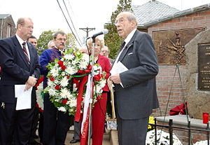 New Brunswick, New Jersey - The Committee of Hungarian Churches and Organizations of New Brunswick commemorating the anniversary of the Hungarian Revolution of 1956
