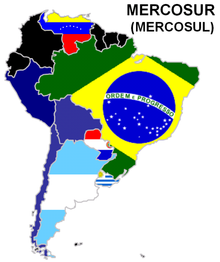 Países do Mercosul