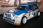 MG Metro 6R4 front-right 2017 Williams Conference Centre.jpg