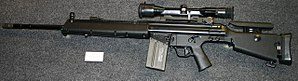 Heckler & Koch PSG1 - Image: MSG 90 rifle museum 2014
