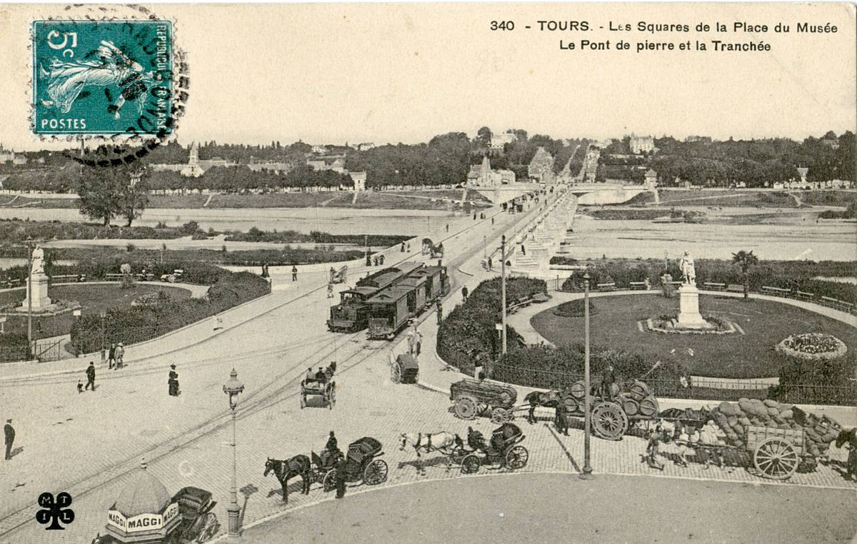 Ancien tramway de tours wikip dia for Piscine de chambray les tours