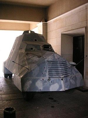 Kubuś - The original Kubuś car at the Polish Army Museum