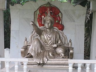 "Madhavrao I - A memorial commemorating ""The Great Peshwa Madhavrao"" at Peshwe Park in Pune, India"