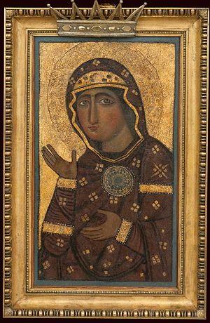 Santi Bonifacio ed Alessio - Icon of Madonna di Sant' Alessio (Madonna of St. Alexis; Madonna of Intercession)