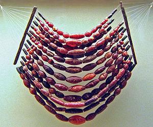 Type site - Hallstatt Amber Choker necklace.