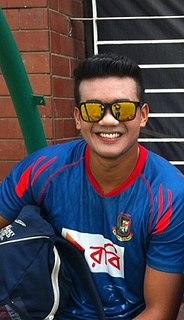 Taskin Ahmed Bangladeshi cricketer