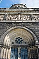 Main entrance frieze and tower - Garfield Monument - Lake View Cemetery - 2015-04-04 (21580588660).jpg