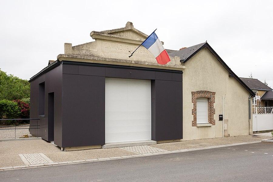 Français:  Mairie de La Rouaudière (France).