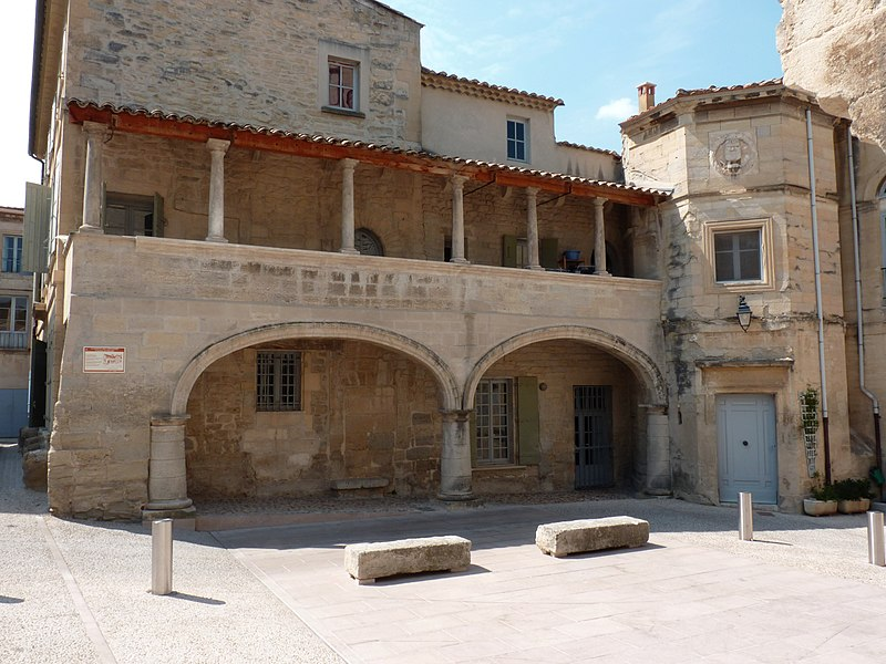 The House of The Knights, built in the 13th century, in Barbentane, France.