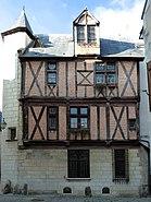 Maison du Croissant, facade - Angers - 20110119