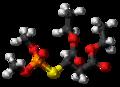 Malaoxon molecule ball.png