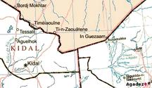 マリ共和国-マリ北部紛争-Mali niger border un